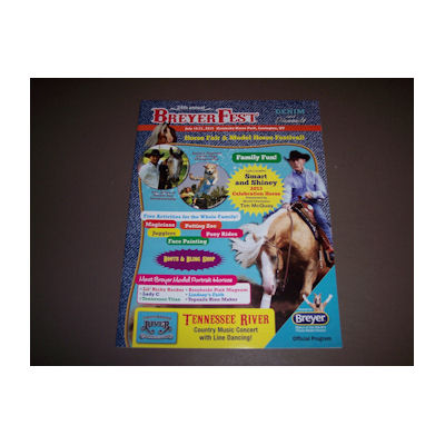 Breyer 2013 Breyerfest Offical Program