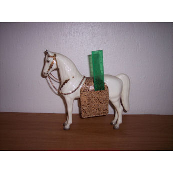 Breyer 1950's Sears SR Western Pony w/grooming kit #45SR-SN