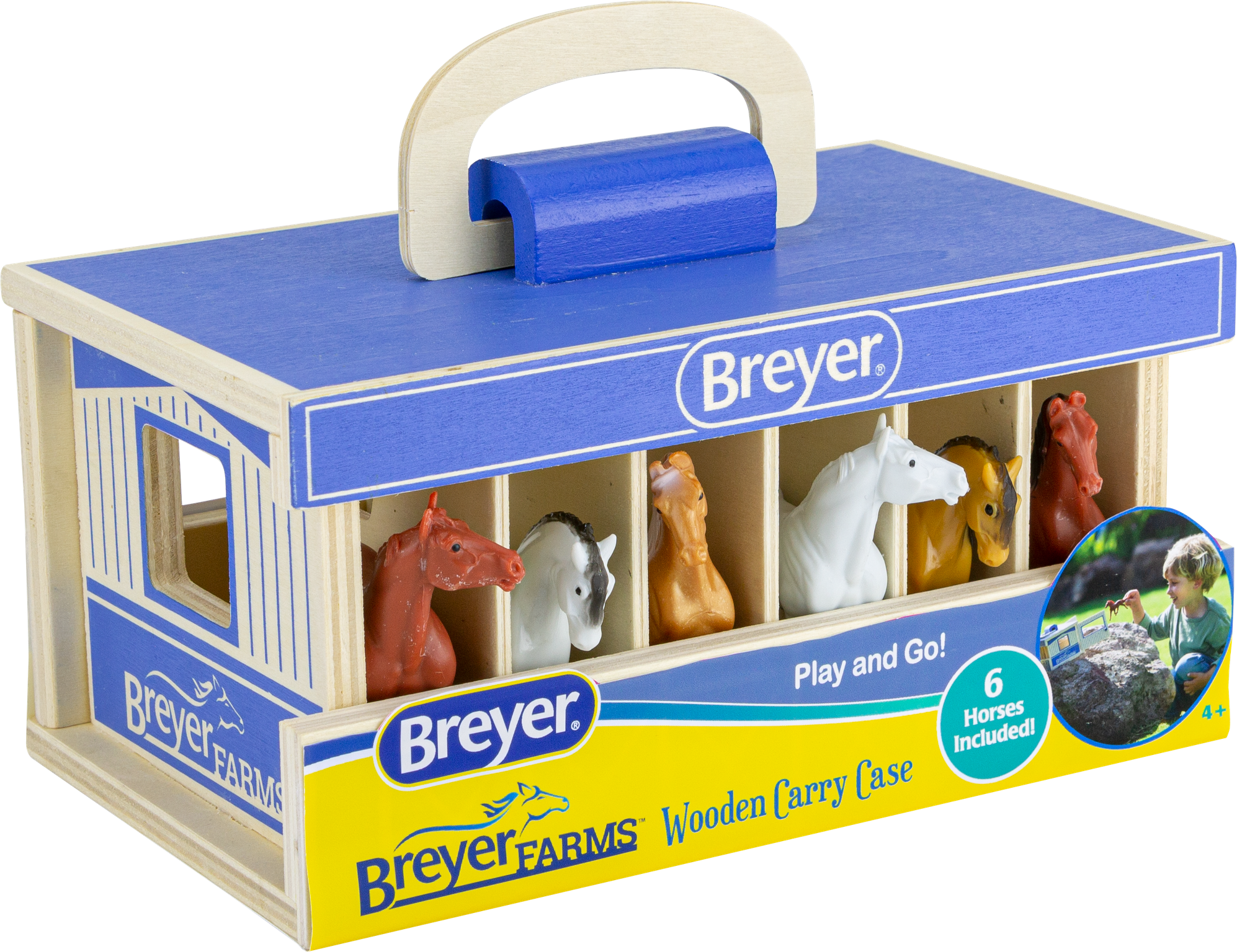 Breyer Stablemate Farm Carry Barn #59217