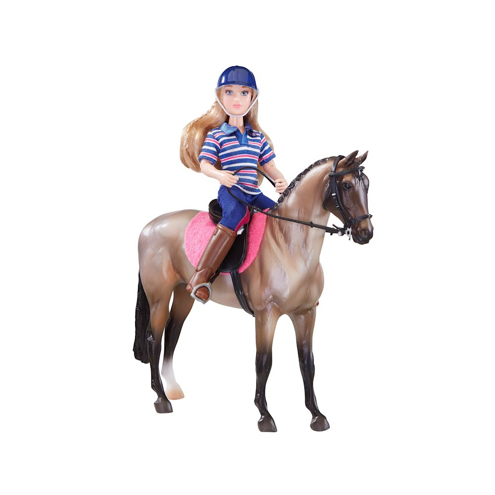 Breyer Classic English Horse & Rider #61114