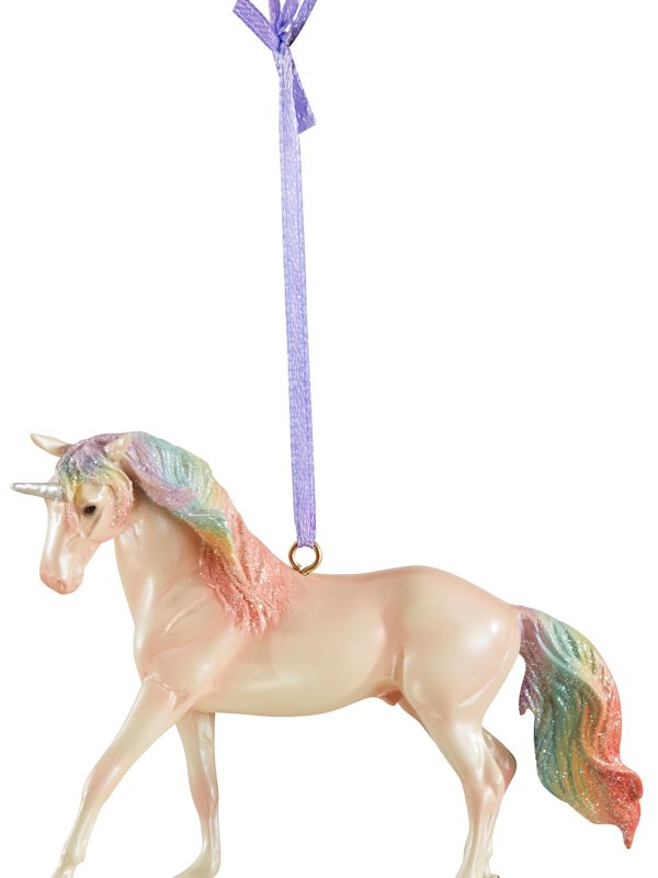 Breyer 2019 Christmas Majesty Unicorn Ornament #700651