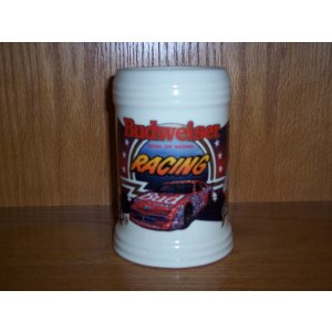 Budweiser Racing Stein Bill Elliott