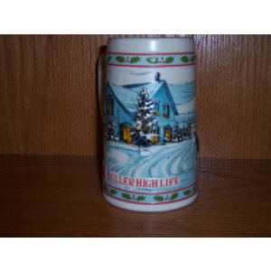 Miller Holiday Stein 1984