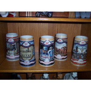 Miller Great American Achievement Series Stein Set