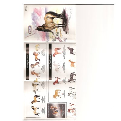 Breyer 1996 Collector Catalog