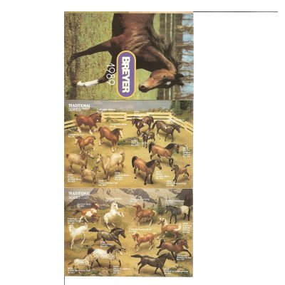 Breyer 1989 Collector Catalog