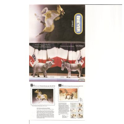 Breyer 1992 Collector Catalog