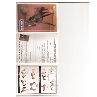 Breyer 1997 Collector Catalog