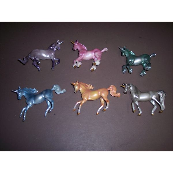 Breyer Stablemates Unicorn Surprise set of 6